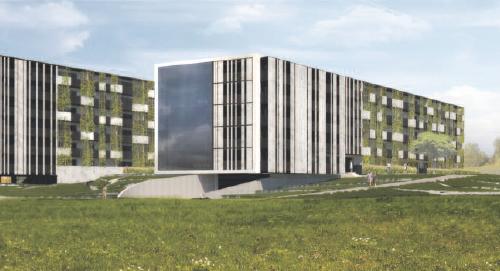 Nowe bloki spółdzielni mieszkaniowej przy ul. Mszczonowskiej i Białej w Rawie