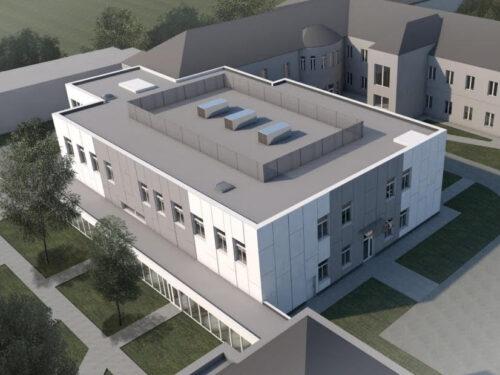 Nowy pawilon z trzema salami operacyjnymi przy rawskim szpitalu i modernizacja dwóch budynków