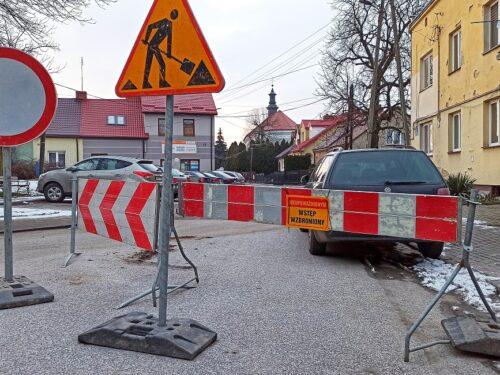 Ulice Mickiewicza, ks. Skorupki i Krzywe Koło muszą poczekać na lepszą pogodę