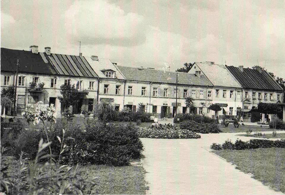 Centrum Rawy Mazowieckiej w latach 60-tych XX wieku.