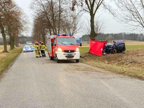 Tragiczny wypadek. Zginął 21-letni mieszkaniec powiatu rawskiego