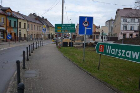 Uwaga! Zamknięta ulica Warszawska w Rawie. Są objazdy!