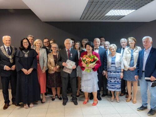 Państwo Czechowscy i Chinowscy z Rawy świętowali swój jubileusz