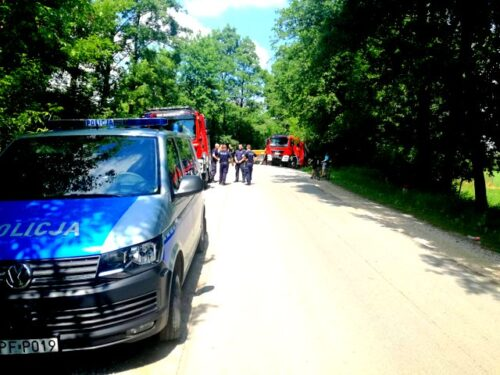 Ciało zaginionej kobiety odnalezione w rzece Rawce w Kurzeszynie