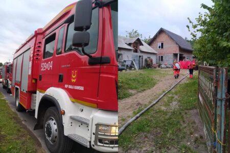 Biała Rawska: 80-letnia mieszkanka miejscowości Żurawia zginęła w pożarze