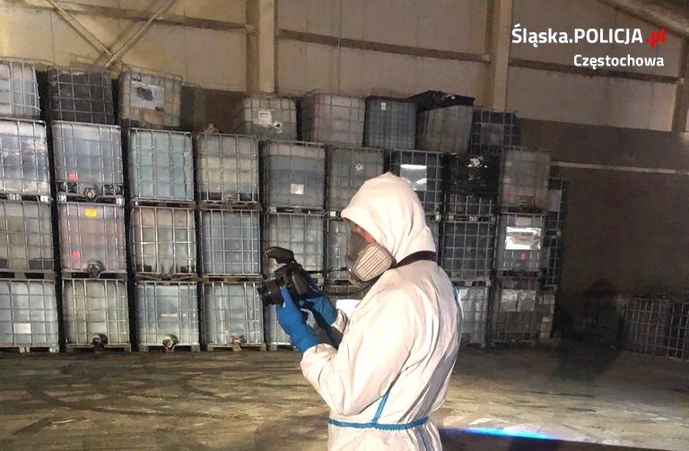 niebezpieczne odpady chemiczne Babsk koło Rawy Mazowieckiej