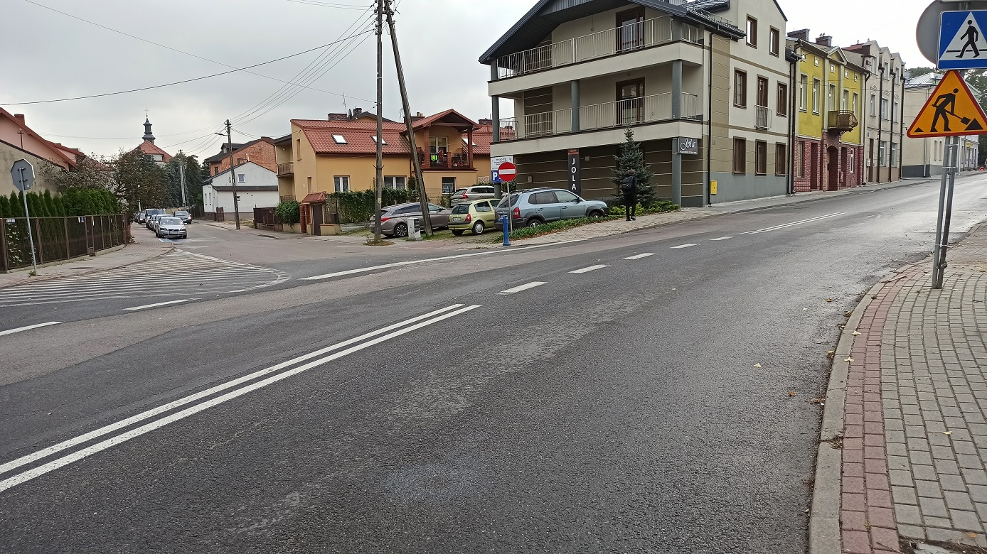 Przebudowa przejść dla pieszych i ulic w Rawie Mazowieckiej kochamrawe ulica Skorupki Krzywe Koło w Rawie