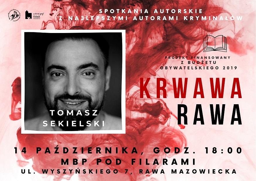 Tomasz Sekielski spotkanie w Rawie Mazowieckiej